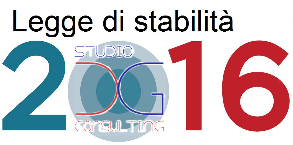 Legge Stabilità 2016
